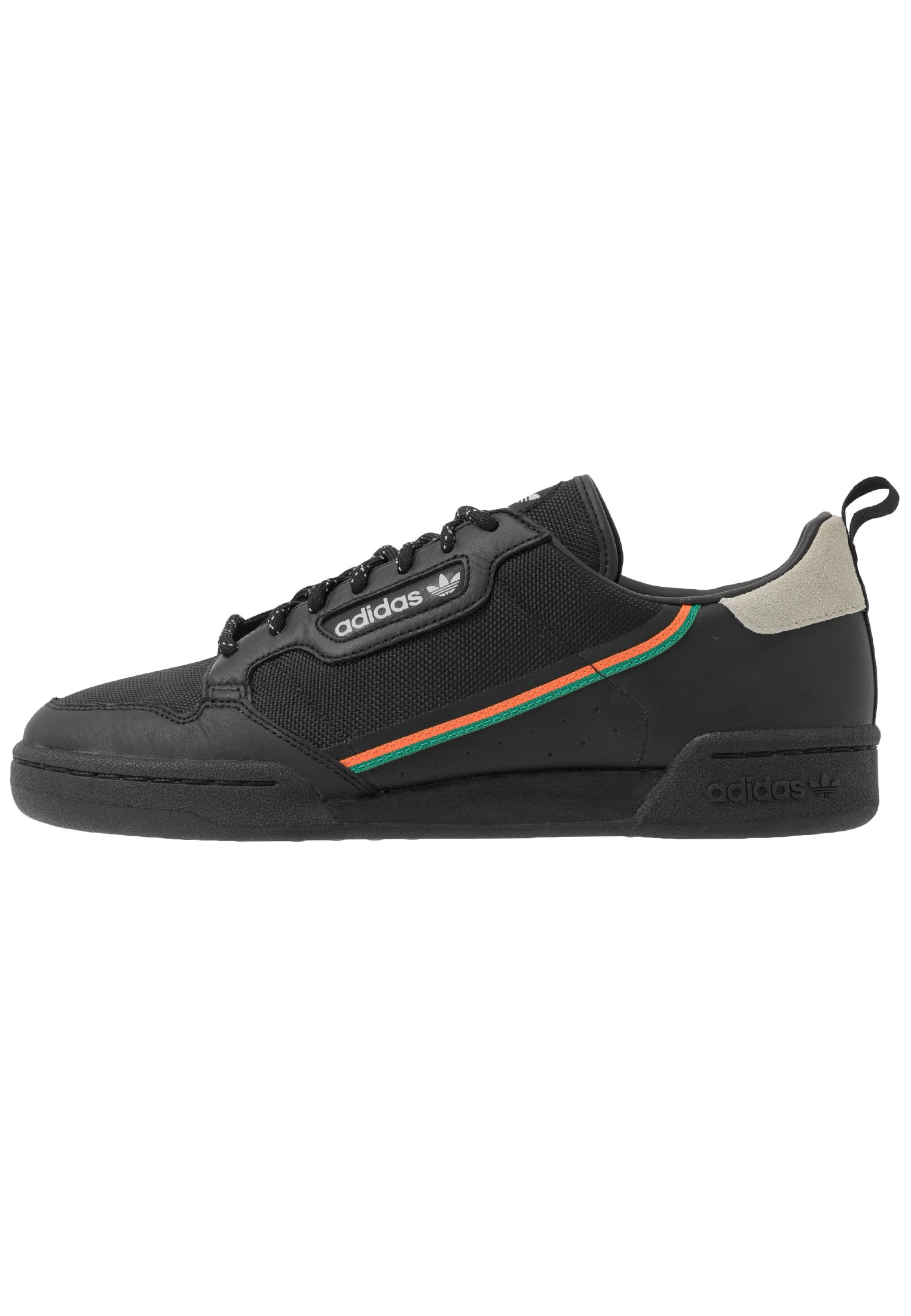 Adidas Originals Continental 80 - Matalavartiset Tennarit Core Black/orange/sesame
