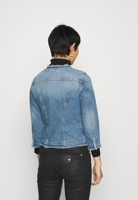 Liu Jo Jeans - GIACCA KATE - Jeansjakke - light blue denim - 2