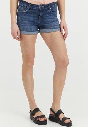 ANDREJA - Denim shorts - antique blue