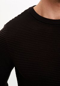 DeFacto - JUMPER - Strickpullover - black - 4
