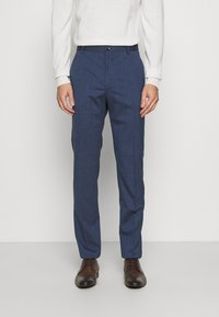 Calvin Klein Tailored - STRETCH PANT - Trousers - blue nights - 0