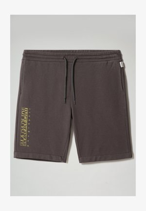 NALLAR - Shorts - dark grey solid