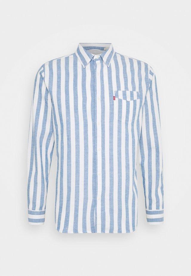 SUNSET POCKET STANDARD - Overhemd - blues