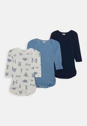 BABY 3 PACK UNISEX - Body - blue/white