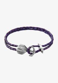 Anchor & Crew - DELTA - Bracelet - purple - 1