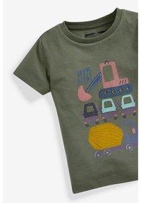 Next - T-shirt print - khaki - 2