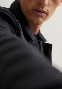 Massimo Dutti - Winter jacket - blue-black denim - 5