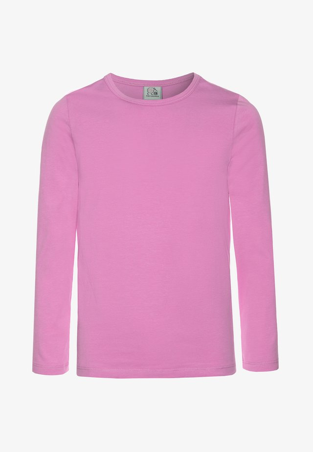 Long sleeved top - orchid