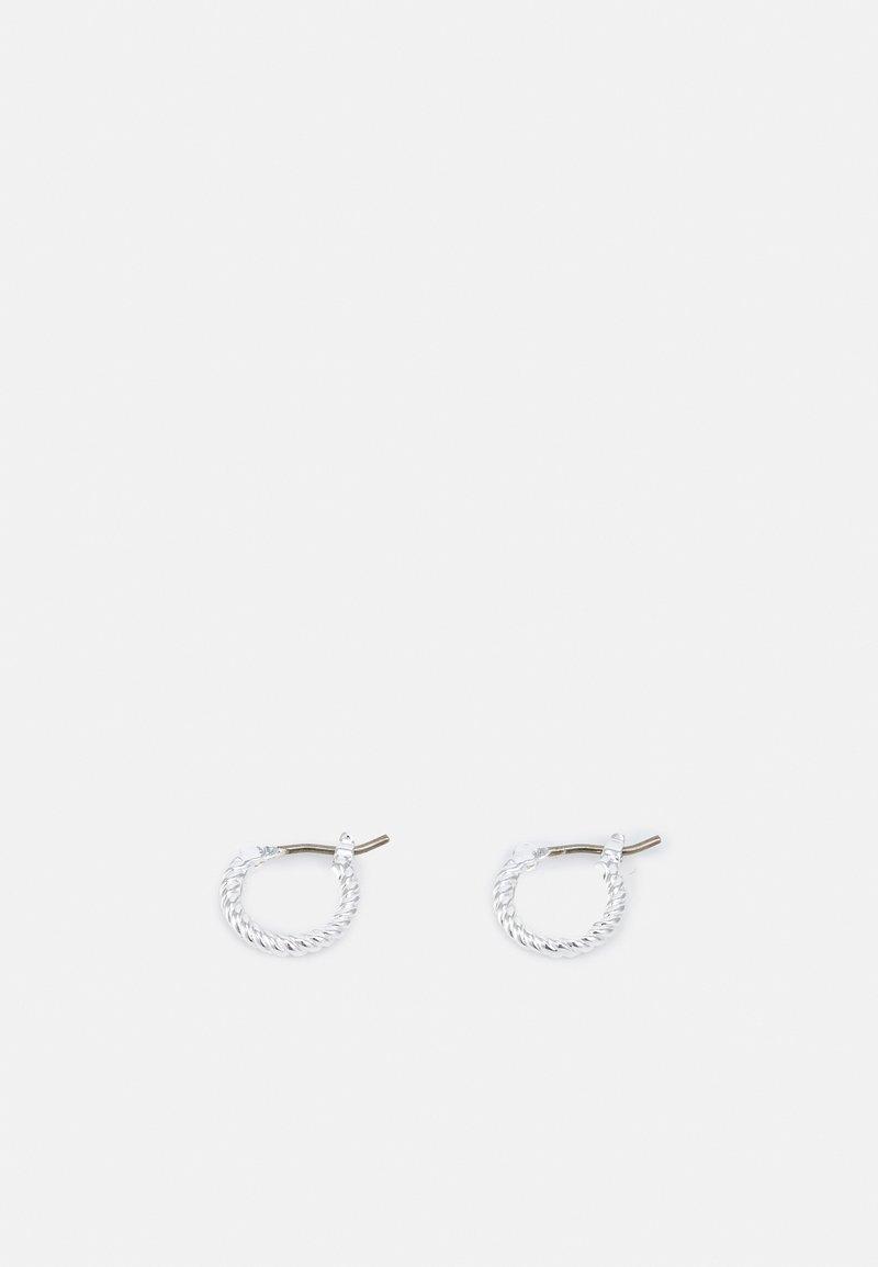 Lauren Ralph Lauren - ROPE HUGGIE - Earrings - silver-coloured