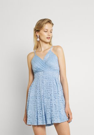 EMMA SKATER DRESS - Cocktail dress / Party dress - cornflour blue