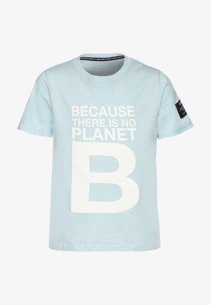 NATAL GREAT KIDS - Print T-shirt - sky blue