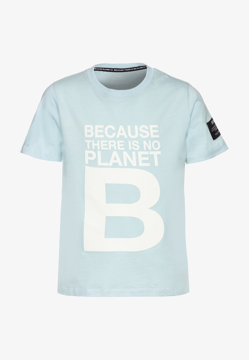 Ecoalf - NATAL GREAT KIDS - T-shirt print - sky blue
