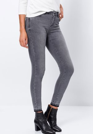 PADUA - Jeans Skinny Fit - grey denim authentic wash