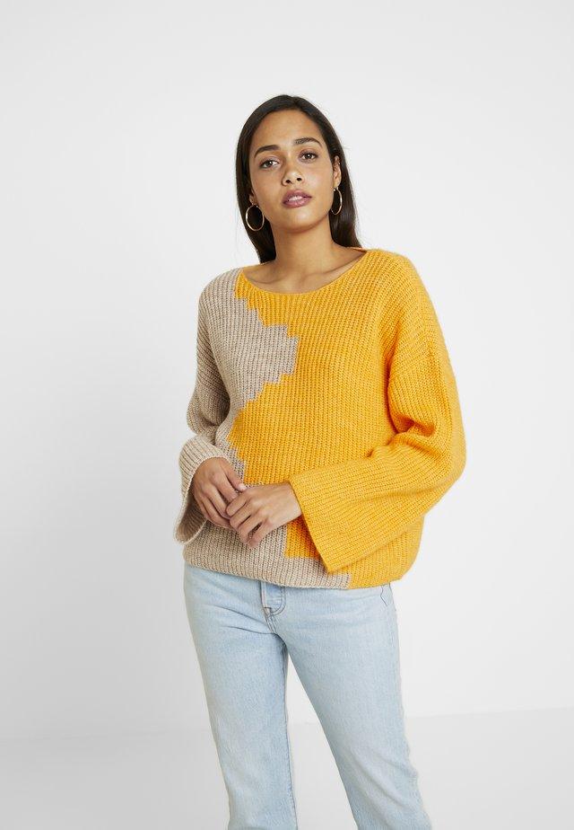 VILOUI  - Pullover - apricot/sand