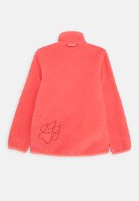 Jack Wolfskin - BAKSMALLA JACKET KIDS - Fleece jacket - coral pink - 1