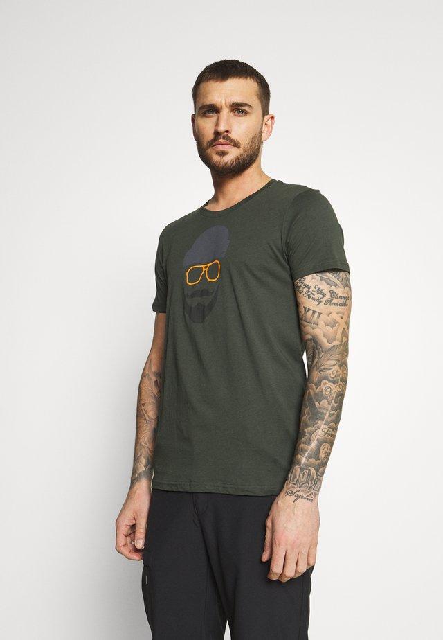ALEDO - T-shirt con stampa - green