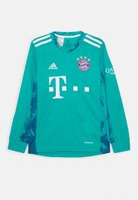 adidas Performance - FC BAYERN MUENCHEN AEROREADY FOOTBALL - Club wear - green - 0