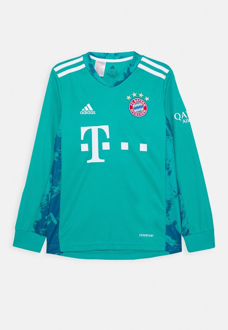 adidas Performance - FC BAYERN MUENCHEN AEROREADY FOOTBALL - Club wear - green