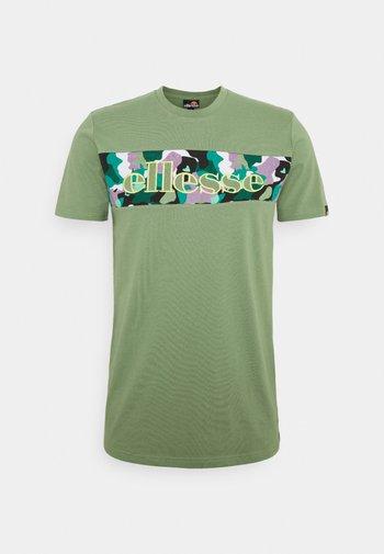MORELA - T-shirt med print - light green