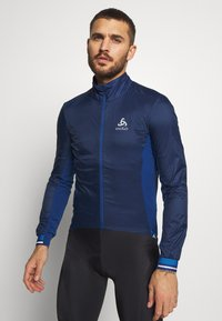 ODLO - JACKET ZEROWEIGHT DUAL DRY - Windbreaker - estate blue - 0