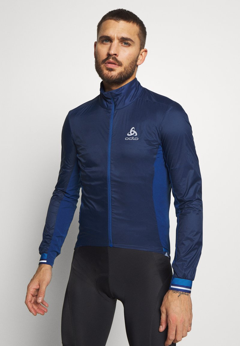 ODLO - JACKET ZEROWEIGHT DUAL DRY - Windbreaker - estate blue