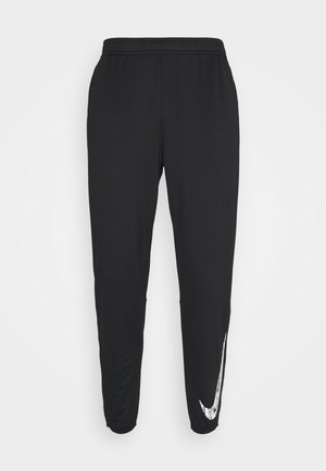 ESSENTIAL PANT - Tracksuit bottoms - black/reflective silver