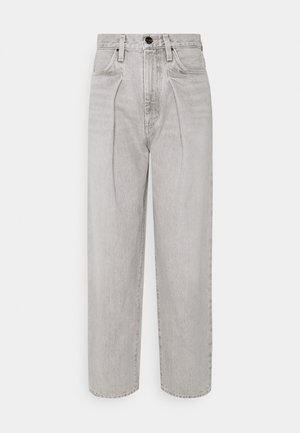 THE PLEAT CURVE - Džíny Straight Fit - wylam (lt grey)