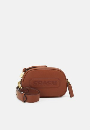 BADGE CAMERA CROSSBODY - Torba na ramię - saddle