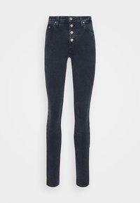Calvin Klein Jeans - HIGH RISE SKINNY - Jeans Skinny Fit - blue grey shank - 3