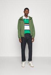 Polo Ralph Lauren - POPLIN HOODED JACKET - Tunn jacka - cargo green - 1