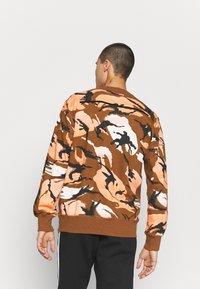 adidas Performance - ZNE CREW - Sweatshirt - brown - 2