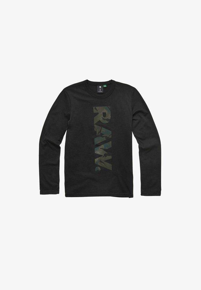 IMPRIMé DOT ML - T-shirt à manches longues - black