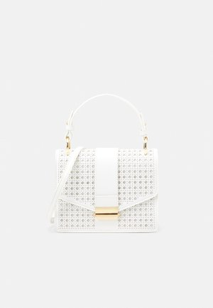 PIPER LASER CUT TOP HANDLE BAG - Kabelka - white