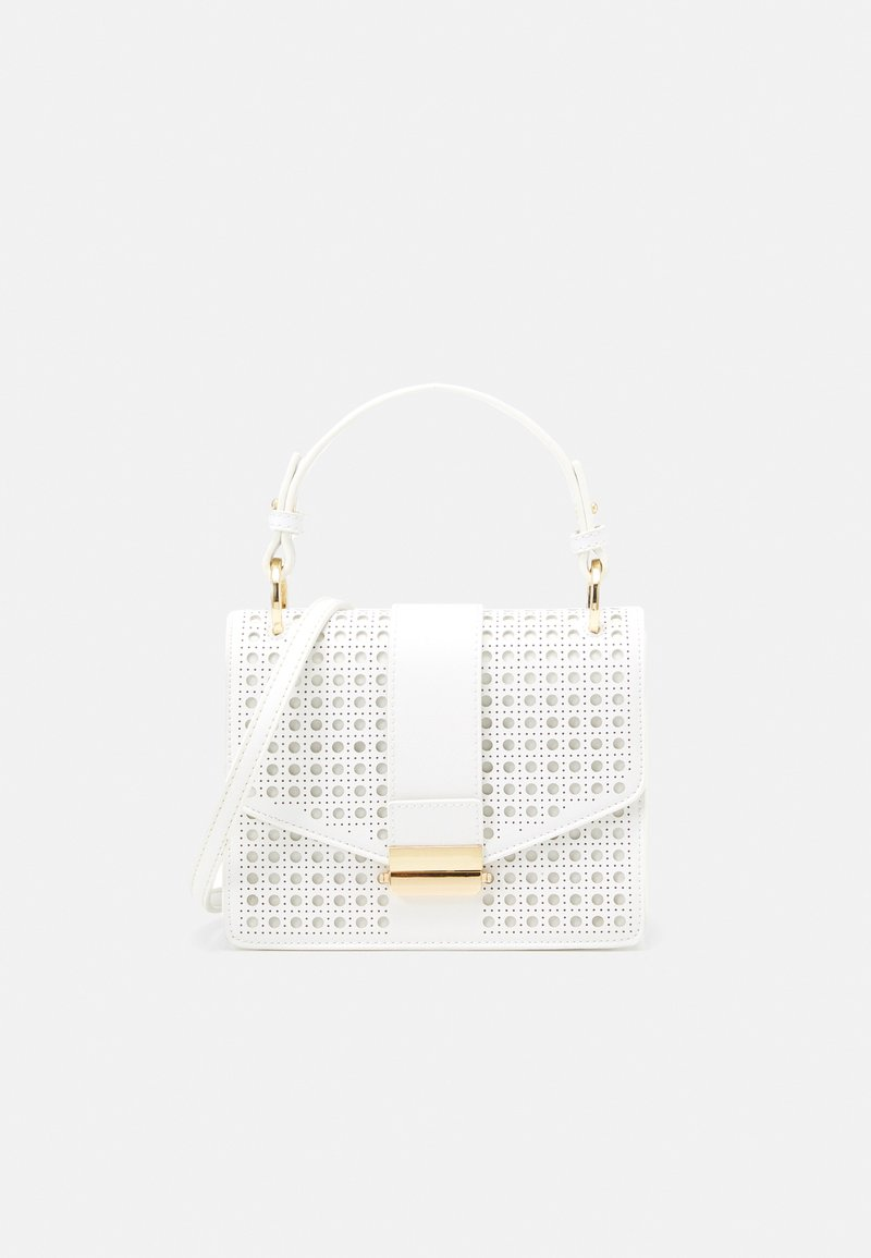 Forever New - PIPER LASER CUT TOP HANDLE BAG - Handbag - white