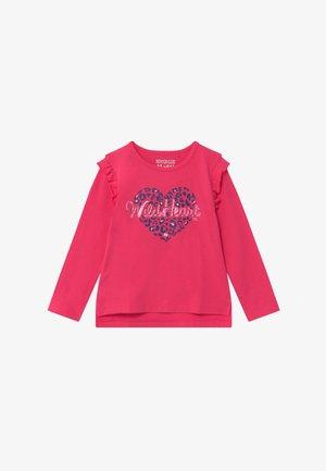 KID - Top sdlouhým rukávem - pink