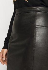 Evans - SKIRT - Pencil skirt - black - 4