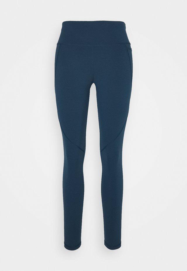 POWER WORKOUT LEGGINGS  - Collant - beetle blue