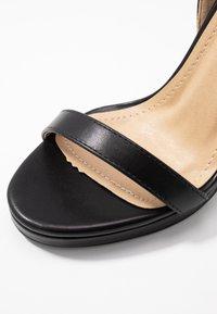 RAID - REAGAN - Sandály na vysokém podpatku - black - 2