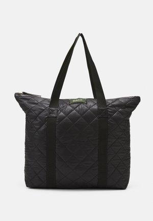 GWENETH CHECKY BAG - Shopper - black