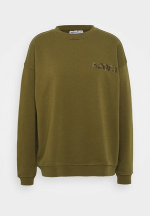 CREAM DOCTOR ONECK - Sweatshirt - army