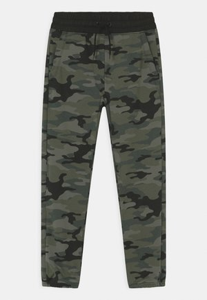 BOY LIFESTYLE - Tracksuit bottoms - green