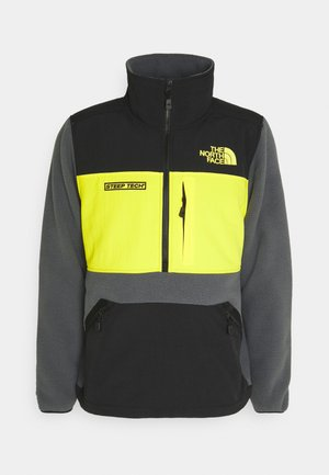 STEEP TECH HALF UNISEX - Fleecová mikina - vanadis grey/ black/lightning yellow
