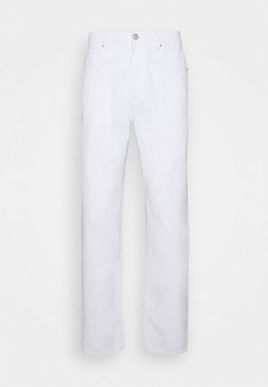 Relaxed fit -farkut - off white