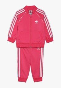 adidas Originals - SUPERSTAR SET - Bluza rozpinana - pink/white - 0