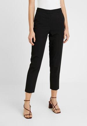 NEW SUIT - Trousers - black