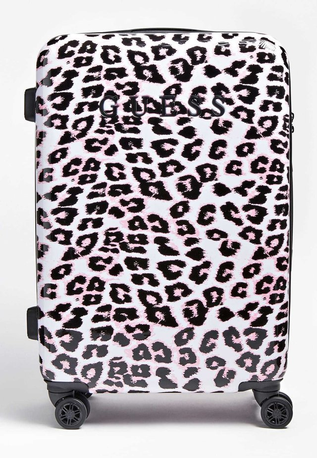 GUESS TROLLEY LORENNA ANIMALPRINT - Trolley - rose