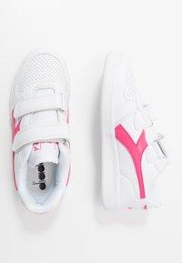 Diadora - PLAYGROUND GIRL - Sports shoes - white/hot pink - 0
