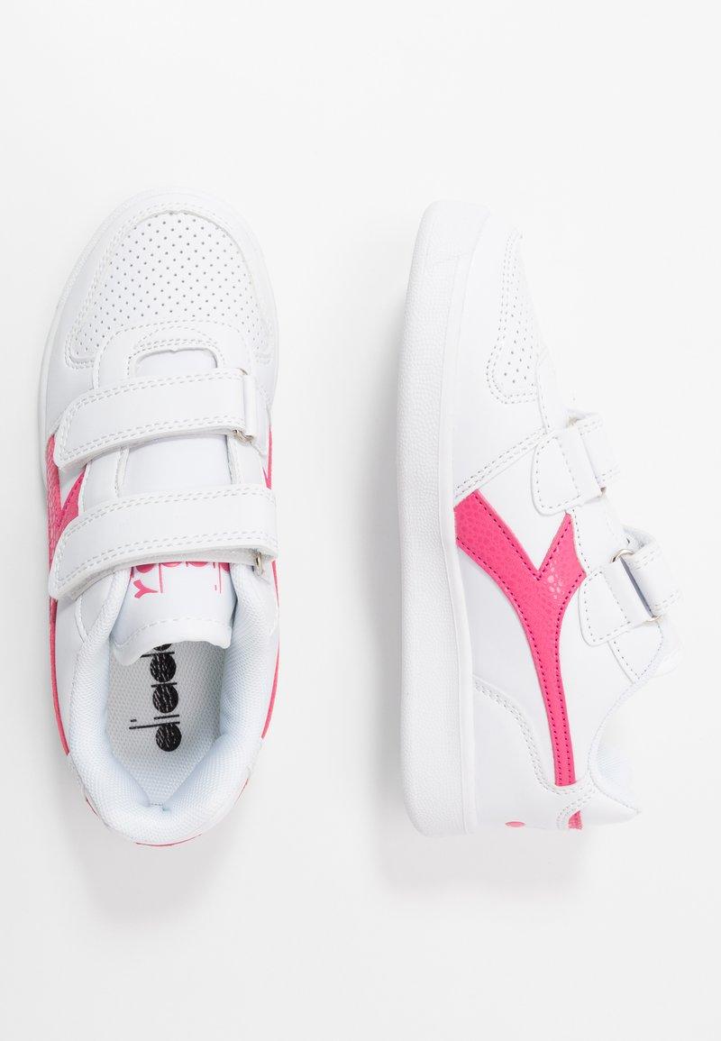 Diadora - PLAYGROUND GIRL - Sports shoes - white/hot pink