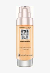 Maybelline New York - DREAM RADIANT LIQUID MAKE-UP - Podkład - 48 sun beige - 0