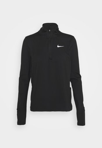 ELEMENT - Long sleeved top - black/reflective silver